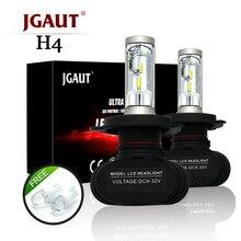 JGAUT S1 фары H1 H3 H4 H7 H11 9005 9006 9004 9012 880 881 светодиодный фар автомобиля лампы 50 Вт 8000LM 6500 К авто светодиодный Headlamp12v