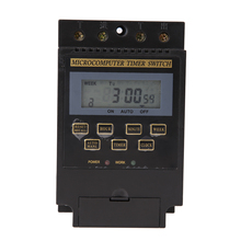 KG316T-II AC220V 25A Din Rail LCD Digital Programmable Electronic Timer Switch Digital Timer Controller KG316T CE Sign