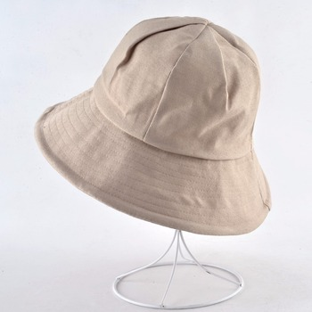 Corduroy Sun Hat For Women Solid Casual Beach Cap Lady Wide Brim Floppy Beach Gorras Outdoor Foldable Visor Bucket Caps Female 2