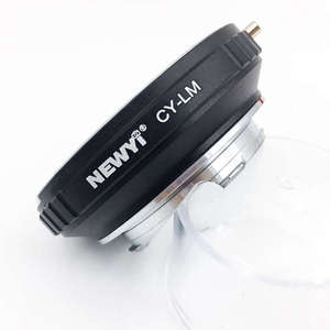 Image 5 - Newyi Cy Lm Adattatore per Contax Cy Lens per Leica M9 M8 con Techart Lm Ea7Ii Obiettivo Della Fotocamera Anello di Accessori