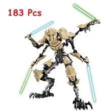 NEW Star Space Wars 7 General Grievous with Lightsaber Storm Trooper W/gun Figure Toys Building Blocks Set DIY Christmas Gift