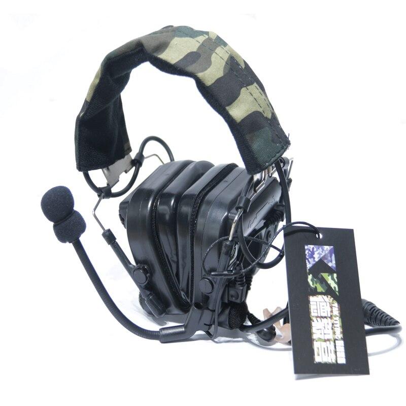 TAK YIYING z-tactique Sordin tactique casques Airsoft Comtac Z 038 ZCOMTAC IV casque intra-auriculaire casque antibruit noir