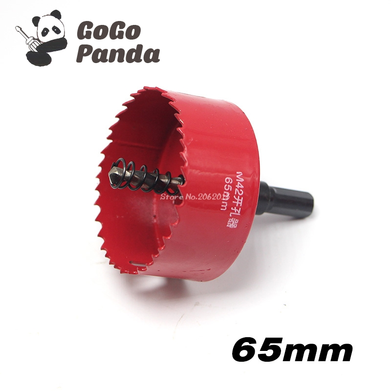 цена на Free Shipping 65mm 2.56 Bi-Metal Wood Hole Saws Bit for Woodworking DIY Wood Cutter Drill Bit