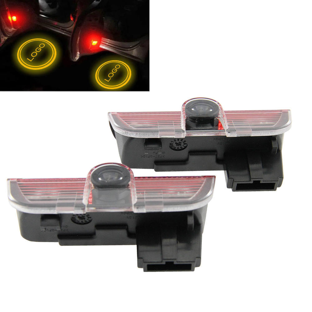 Car Courtesy Ghost Shadow door light For Porsche Cayenne 958 911 Boxster CARRERA4 MACAN S3 S4 Welcome Laser Logo Projector Lamps