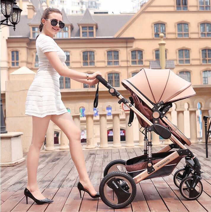 Baby Stroller 2 in 1 Stroller ტყუის ან - ბავშვთა საქმიანობა და აქსესუარები - ფოტო 2