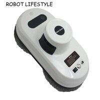 Робот для очистки окон, сильный всасывающий пылесос, анти падение, пульт дистанционного управления, умная Магнитная стеклянная шайба