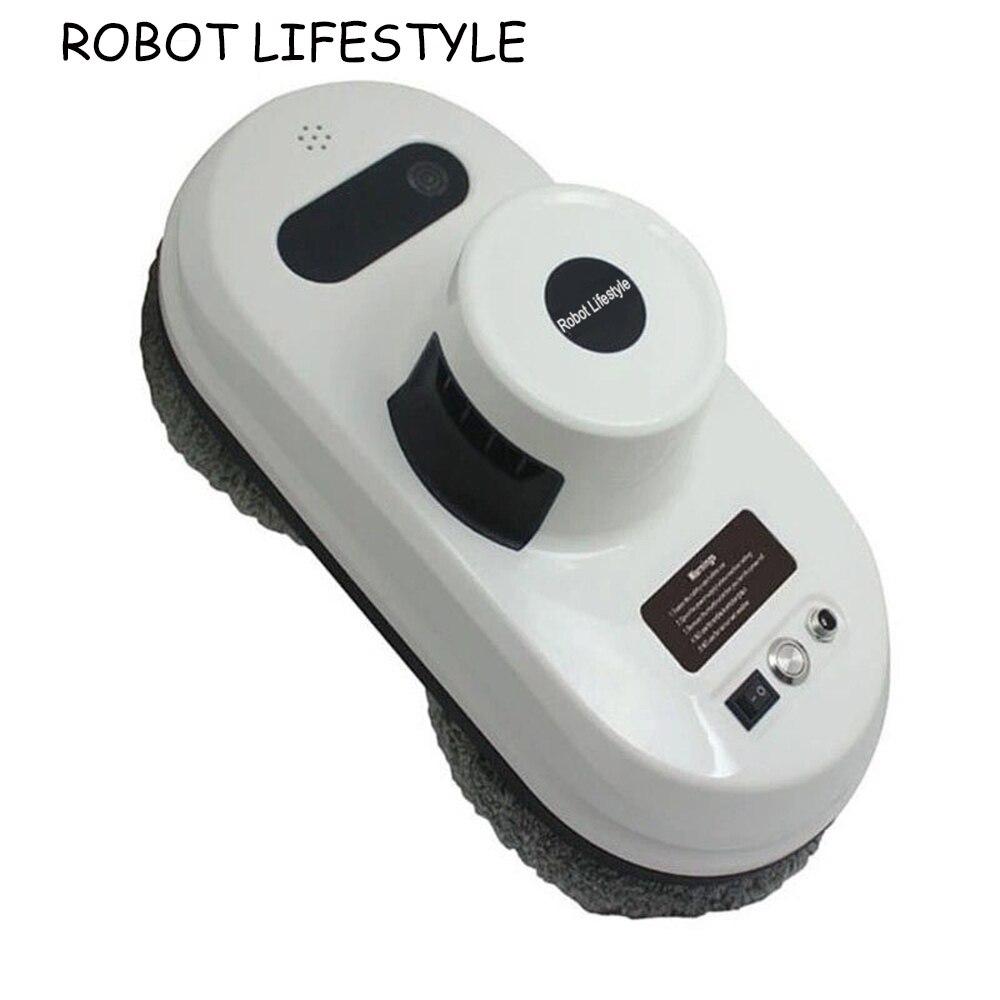 Fenêtre De Nettoyage Robot, Forte Aspiration Aspirateur, Anti-chute, Télécommande, intelligente Magnétique Verre rondelle