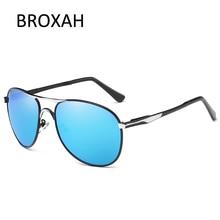 Oversized Sunglasses Men Polarized Brand Designer Driving Sun Glasses Retro Pilot for Man UV400 Gafas De Sol Hombre