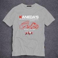 AKIRA Kaneda de Personalización de La Motocicleta camiseta Retro Japonés Anime Camiseta de La Camiseta de Algodón Para Hombre Adulto camiseta S-5XL
