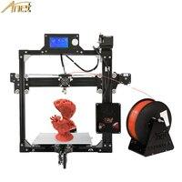 Anet A2 3D Printer DIY Prusa I3 Aluminum Metal 3D Printer Kit 220 220 220 220
