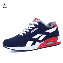 Winter Men Shoes Krasovki Running Shoes For Men Chaussures Homme Sneakers Shoes Sports Men Winter Running Shoes With Fur