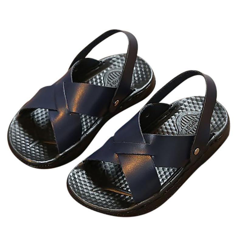 BMF TELOTUNY Fashion Summer Children Infant Kids Boys Girls Slipper PU Foam Sandals Beach Casual Shoes Apr20 Drop Ship