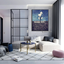 Wholesale High Quality Handmade Trees Oil Paintings On Canvashand painted Abstract Landscape for living room
