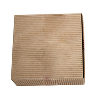 Kraft Paper Aircraft Cardboard Pack Boxes 14 5 14cm 20pcs Lot Smart Sized Craftwork Gift Ear