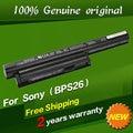 Free shipping VGP-BPL26 VGP-BPS26 VGP-BPS26A VGP-BPS26S BPS26 Original laptop Battery For SONY VAIO VPC-EL26 CA26EC E14 E15 E17