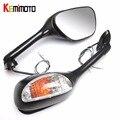 KEMiMOTO For suzuki GSXR 600 750 motorcycle Rearview Mirror for Suzuki GSXR 600 750 2006-2010 GSXR 1000 2005-2008 after market