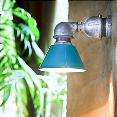 Retro Loft Style Industrial Vintage Wall Light For Home Metal Water Pipe Lamp LED Wall Sconce Indoor Lighting Lampara Pared iwhd iron metal industrial wall light fixtures home lighting loft style edison vintage wall lamp sconce luminaire lampara pared