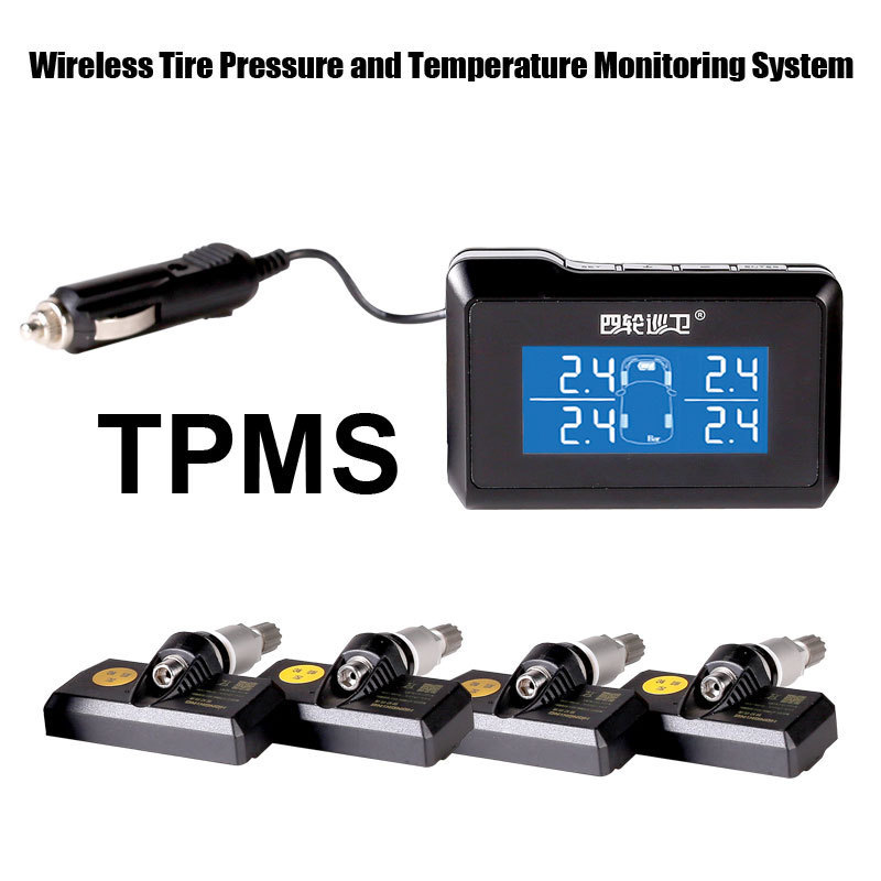 tire pressure monitoring system car tpms with internal sensors support high low pressure. Black Bedroom Furniture Sets. Home Design Ideas