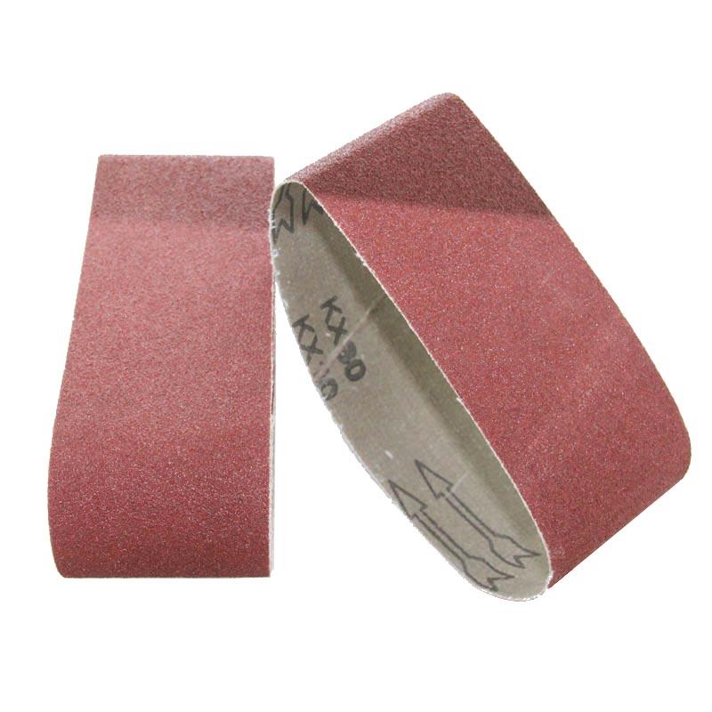 Cinturón de lijado de 5 piezas 75x533 mm Cinturones de arena de 3 - Herramientas abrasivas - foto 5
