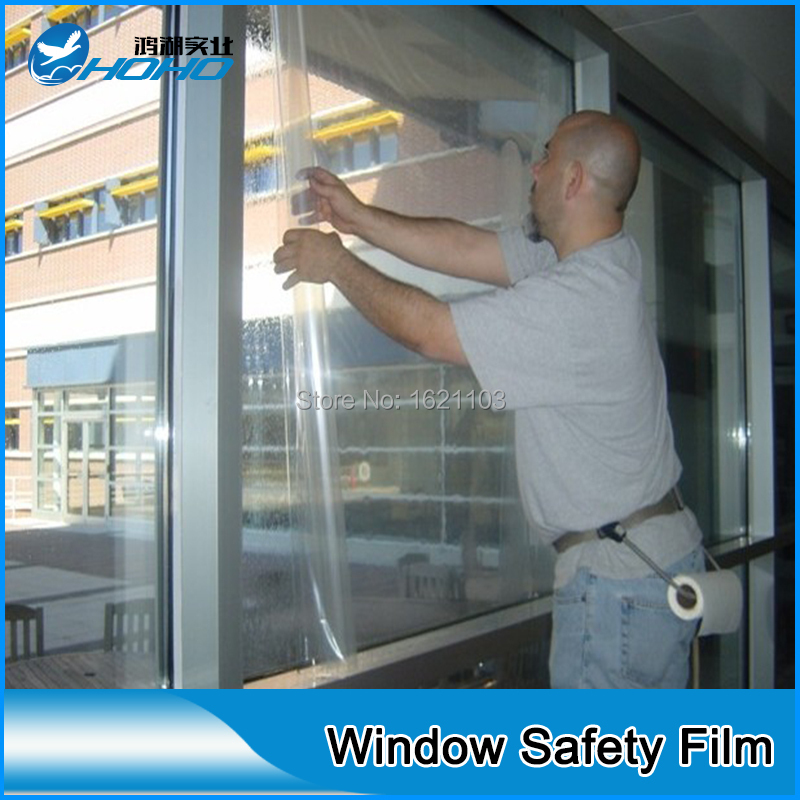 12mil Safety Amp Security Window Film For Car And Building In