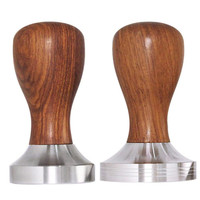 Coffee Tamper 49mm/51mm/58mm Whorl Flat Base Ripple Espresso Cafe Barista Tools For Kitchen Accessories Coffee Press