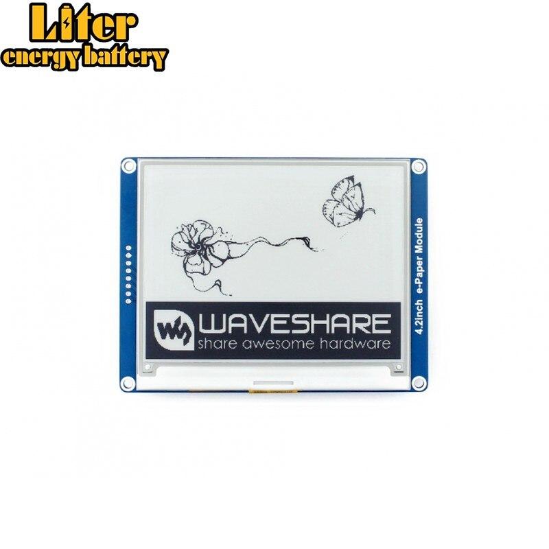 Waveshare1.54inch e-бумажный Модуль 200x200, 2,9 дюйма e-Бумага 296x128, 4,2 дюйма e-Бумага, 400x300 E-Ink, SPI интерфейс для Raspberry PI