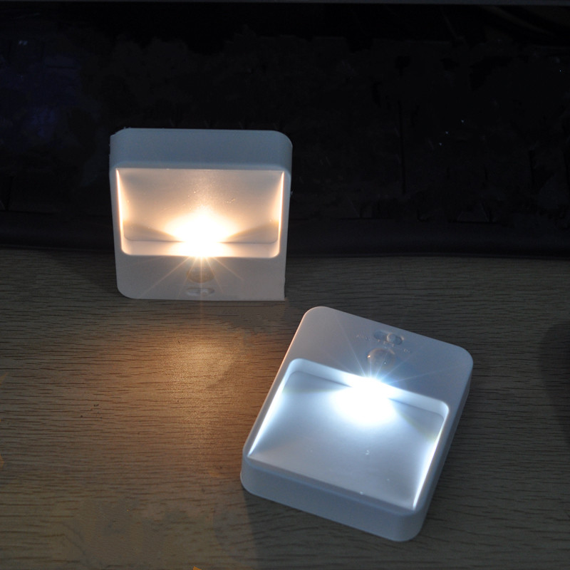 Modern Human body Panel Powered Motion Sensor wall lamp Energy Saving solar light led night light for bedroom bedside corridor