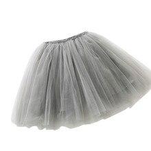 Высокое качество девушки Прекрасный бальное платье Юбка из сетчатой ткани юбка-пачка для девочек юбка-американка для танцев для девочек юбки для размер на 3–8 лет детские юбки CA017