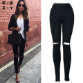 Women jeans Fashion new style Button fly Sexy girl Straight Hot style high waist jeans boyfriend jeans for women