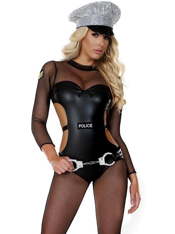 Sexy Ladies Police Cosplay Costume Sexy Cop Uniform Police