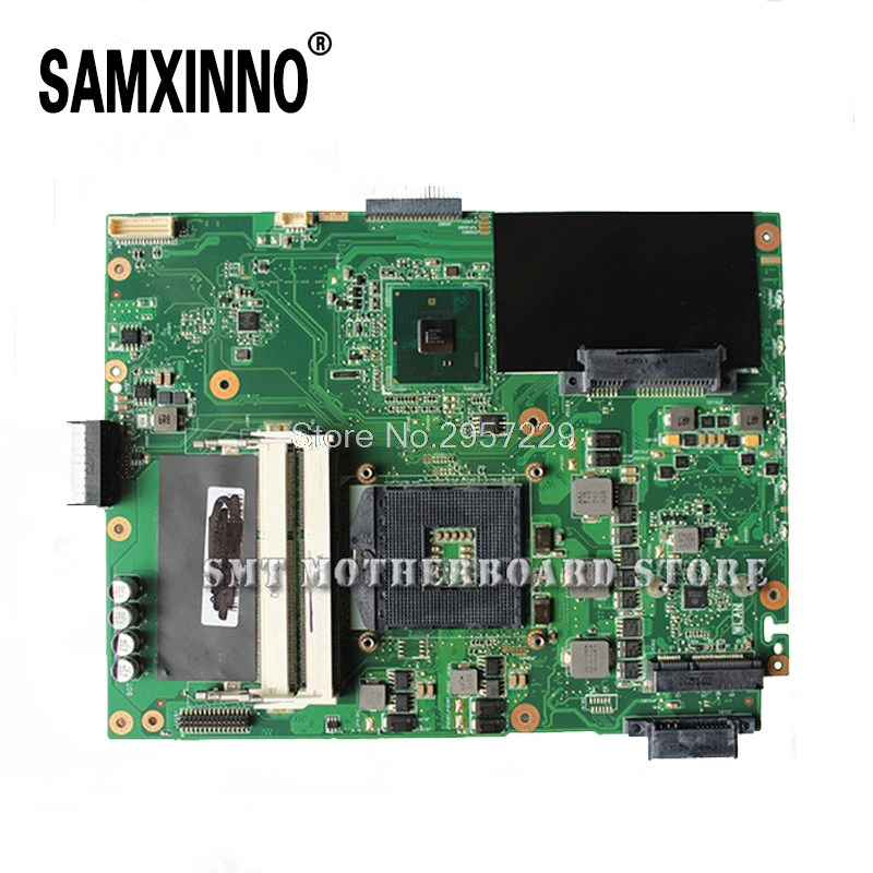 For Asus Motherboard X52F A52F P52F K52F REV:2.2 Mainboard HM55 PGA989 60-NXNMB1000-E04 100% Work S-6