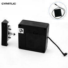 RFID Keyless Hidden Locker Cabinet Lock Private card Lock Castle Black Electronic Invisible Digital Cabinet Door Lock golden color rfid digital lock for sauna spa swimming pool gym electronic cabinet lock lockers one wristband