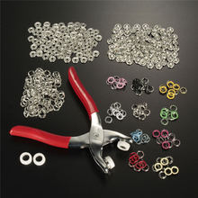 Wholesale Price 1PC 10 Colors 100 Snap Fastener Pilers Craft Press Button Prong Ring Stud 9.5mm Snap Fastener Plier Craft