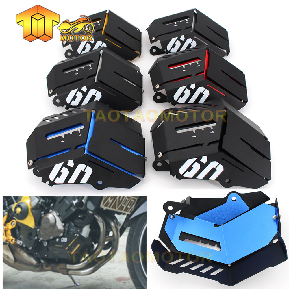 1PCS For Yamaha MT-09 FZ-09 FJ-09 MT-09 Tracer/Tracer 900 2014-2016 Motorcycle Accessories Coolant Recovery Tank Shielding Cover crash bar mt 09