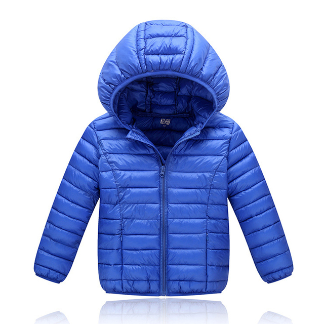 Children Winter Jackets 2018 Autumn Jackets For Boys Outerwear Kids Duck Down jackets for Girls Warm Coat Hooded Boy Clothes