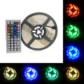 RGB LED Strip Waterproof 3528 SMD5m 60LEDs/m Flexible Strips Ligth Super Bright LED String Tapes Lamp 12V Christmas Lights
