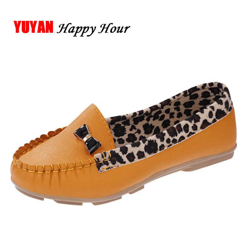 Spring and Autumn Flats for Women Flat heel Shoes Fashion Leopard Flats Women Shoes Casual Soft Comfortable Loafers Hot Sale men and women casual canvas flat heel flats loafers shoes