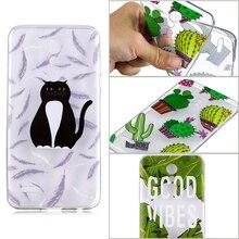 colorful unicorns phone case for LG K8 K10 K4 2017 coque cactus tropical plants funda 2018 transparent tpu cover
