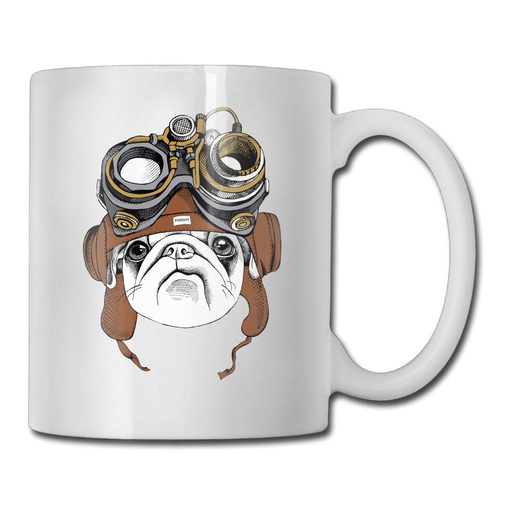 Cool Mugs Us 18 99 Steam Pug Vision Dog Coffee Mug Cool Mom Tazas Ceramic Tumbler Caneca Tea Cups In Mugs From Home Garden On Aliexpress Alibaba Group