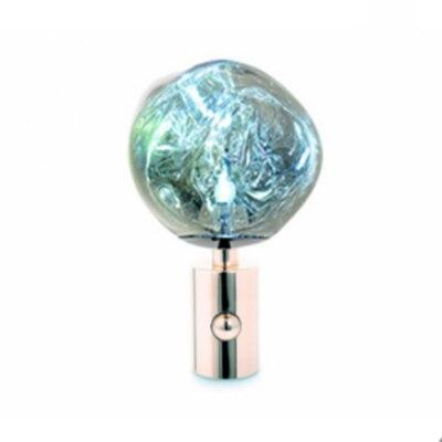 IKVVT настольная лампа нерегулярные области чтения Настольный светильник креативный Настольный светильник s для Гостиная прикроватная лампа украшение дома светильник Инж - Цвет корпуса: Серебристый