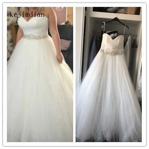 Luxury Wedding Dresses Ball Gown Off Shoulder Bridal Gown wedding gown 2019 Bride Dress Vestido de noiva Robe de mariage