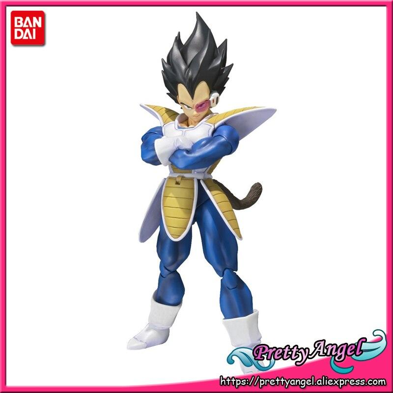 PrettyAngel Genuine Bandai Tamashii Nations S H Figuarts Dragon Ball Z Vegeta Action Figure