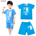Boy Clothing Set Sport Suit Cotton T shirt & Short Pants Kids Clothes Brand New Arrival 2016 Summer Style Baby Boys Clothes