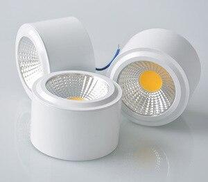 Image 3 - Светодиодный точечный светильник с поверхностным креплением, 5 Вт, 7 Вт, 9 Вт, 12 Вт, 110 В, 220 В, точечный светильник, теплый/чистый/холодный белый