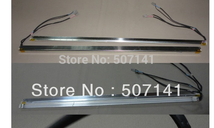 2PCS 17'' Inch Dual Lamps CCFL With Frame,LCD Monitor Lamp Backlight With Housing,CCFL With Cover,CCFL:350mmx2.4,FRAME:355mmx7mm