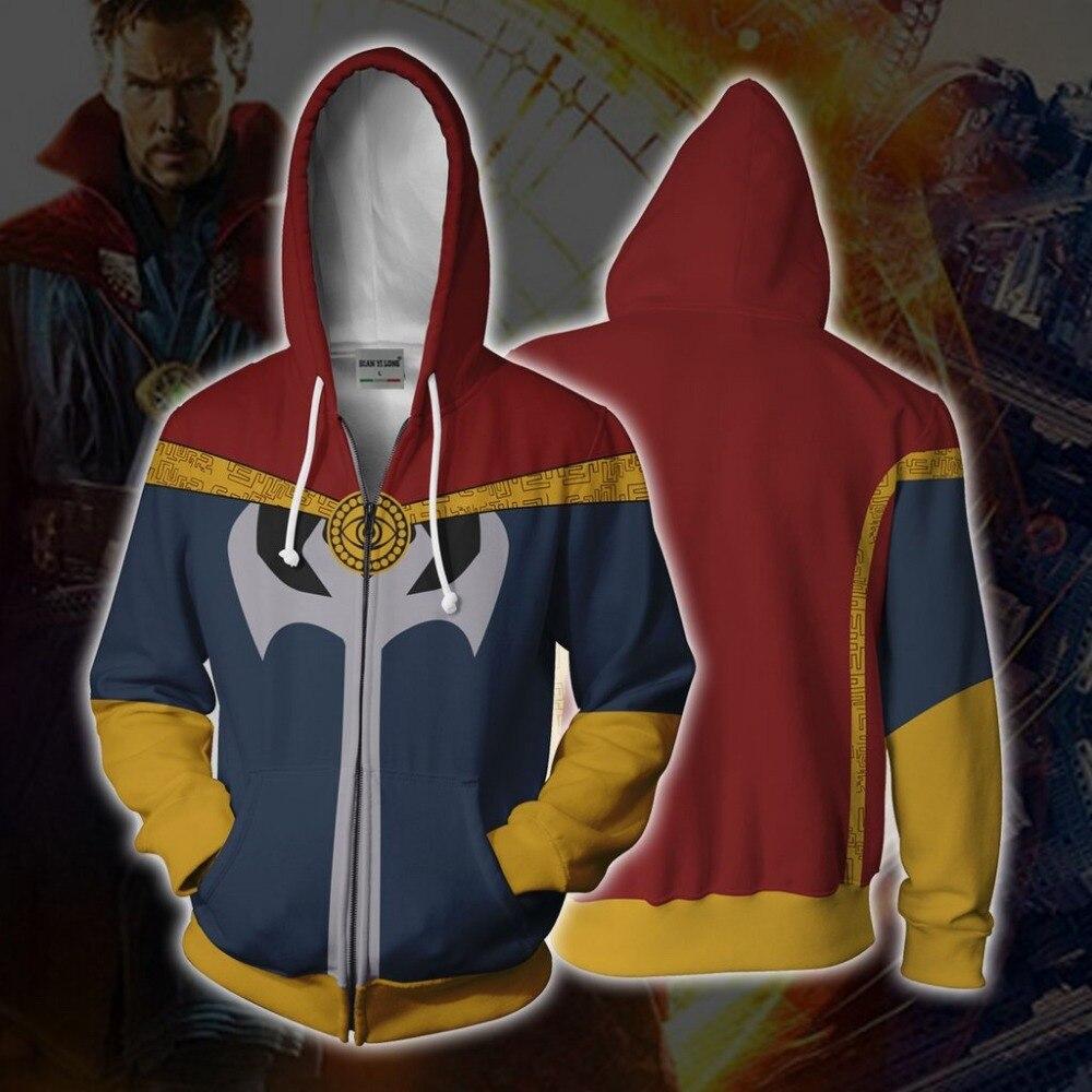 BIANYILONG 2018 New Hooded Men Boy Flash 3D Printed Hoodies Sweatpants Casual Hooded Zipper Hip Hop Tops