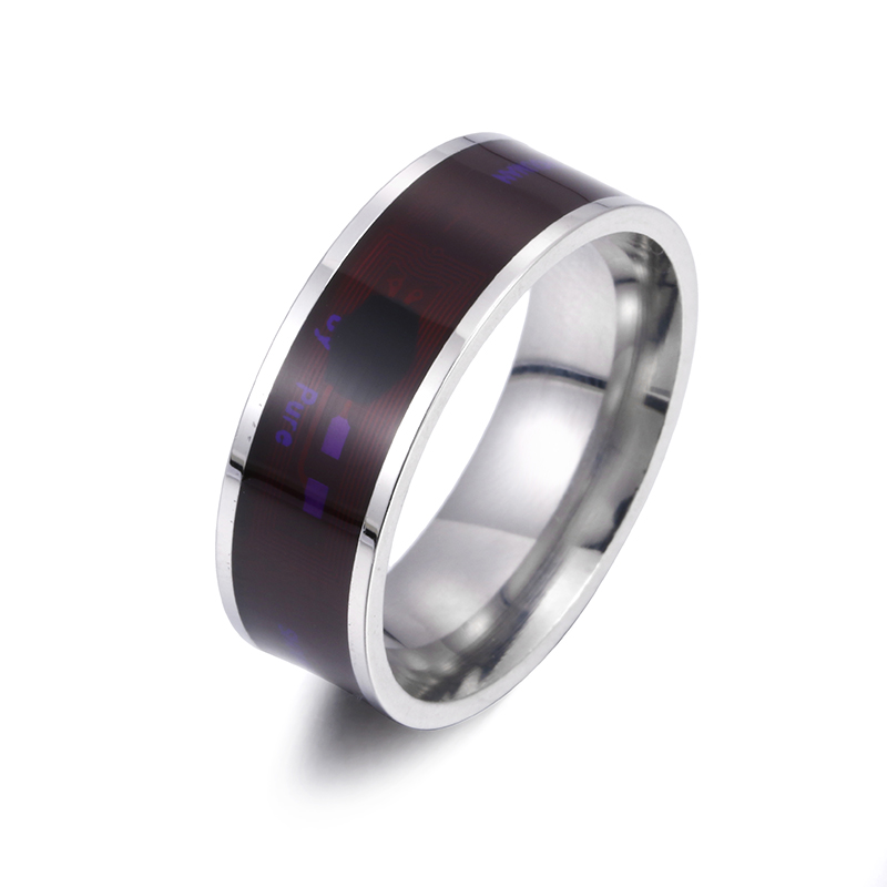 Silver and purple