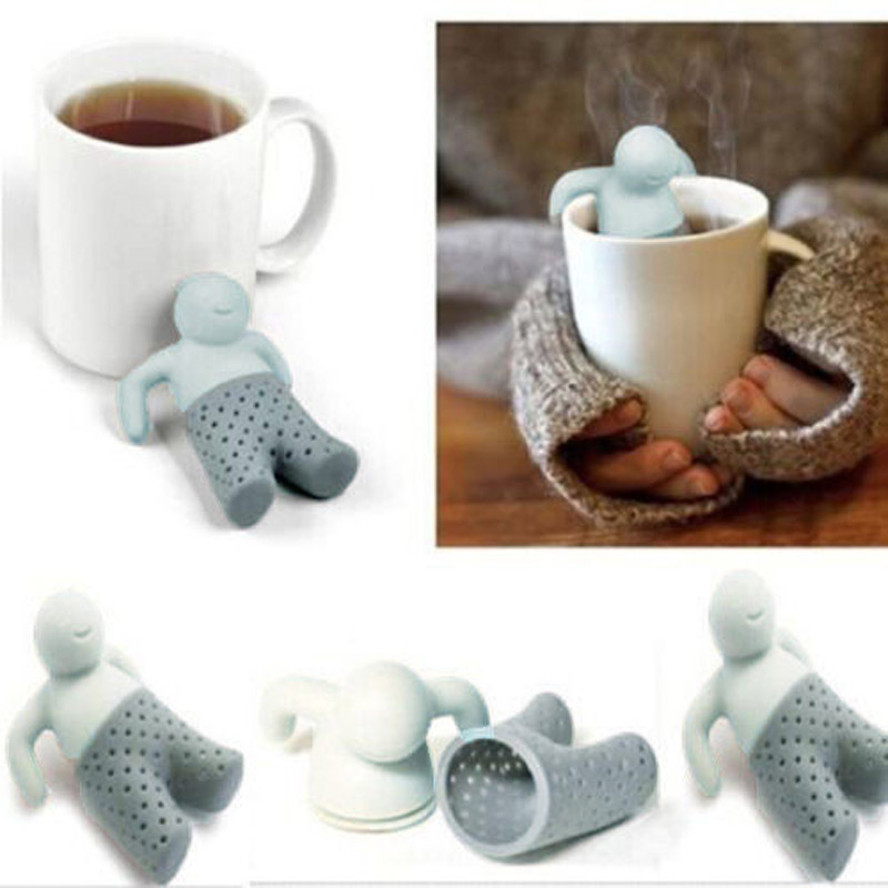 Mr.Tea Bag Silicone Tea Infuser Leaf Straniner Herbal Druice Spice Filter Tea Tools