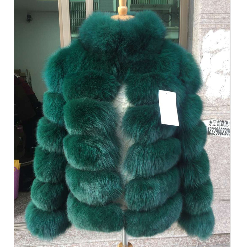 Women's Winter Jacket Whole Skin Leather Real Fur Fur Fox Coats 2016 Female Luxury Natural New Genuine Fur Waistcoats C66