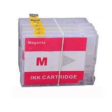 1 Set PGI-2500 Ink Cartridge for Canon PGI2500 PGI 2500 With Reset Chip for Canon MAXIFY MB5050 MB5350 iB4050 new printer 4 color set pgi 1300 pgi 1300xl empty refillable cartridge with chip for canon maxify mb2330 mb2030